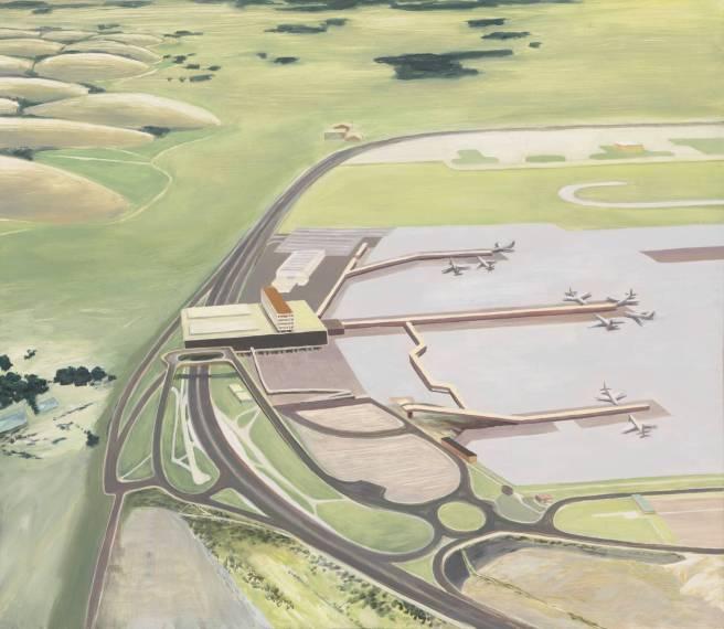 Airport 1995 by Carol Rhodes born 1959